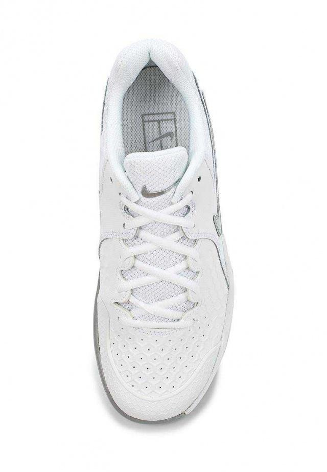 NIKE Кроссовки женские Air Zoom Resistance Tennis Shoe, white. Фото N3