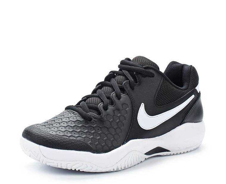 NIKE Кроссовки мужские AIR ZOOM RESISTANCE, black, white