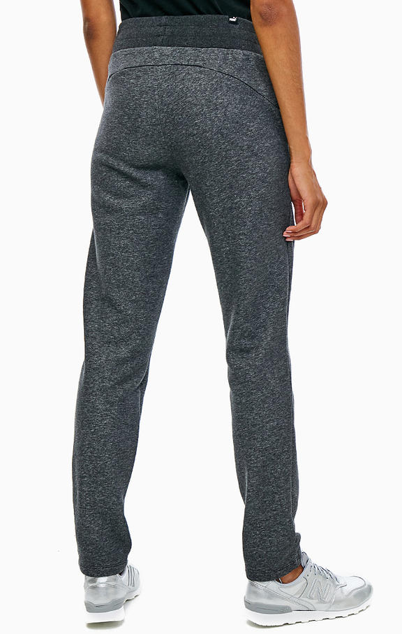PUMA брюки женские ESS SWEAT PANTS FL OP, grey. Фото N2