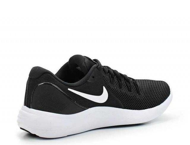 NIKE Кроссовки женские Lunar Apparent, black, white. Фото N2