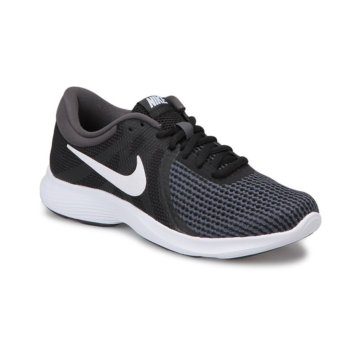 NIKE Кроссовки женские WMNS NIKE REVOLUTION 4 EU, black, grey