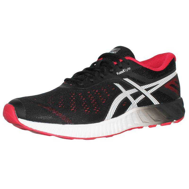 ASICS Кроссовки мужские Asics Fuzex Lyte, black, red, white T620N9023