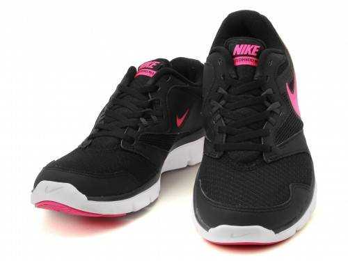 NIKE FLX EXPERIENCE RN3 MSL Кроссовки женские, black, pink. Фото N4