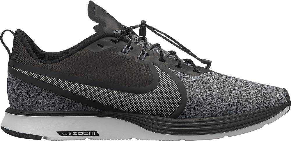 NIKE Кроссовки мужские Zoom Strike 2 Shield, grey, black. Фото N4