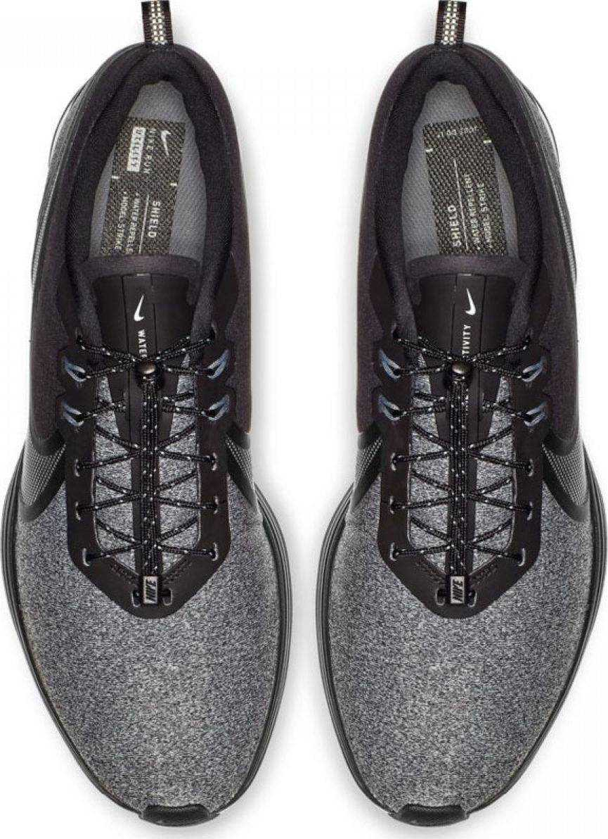 NIKE Кроссовки мужские Zoom Strike 2 Shield, grey, black. Фото N2