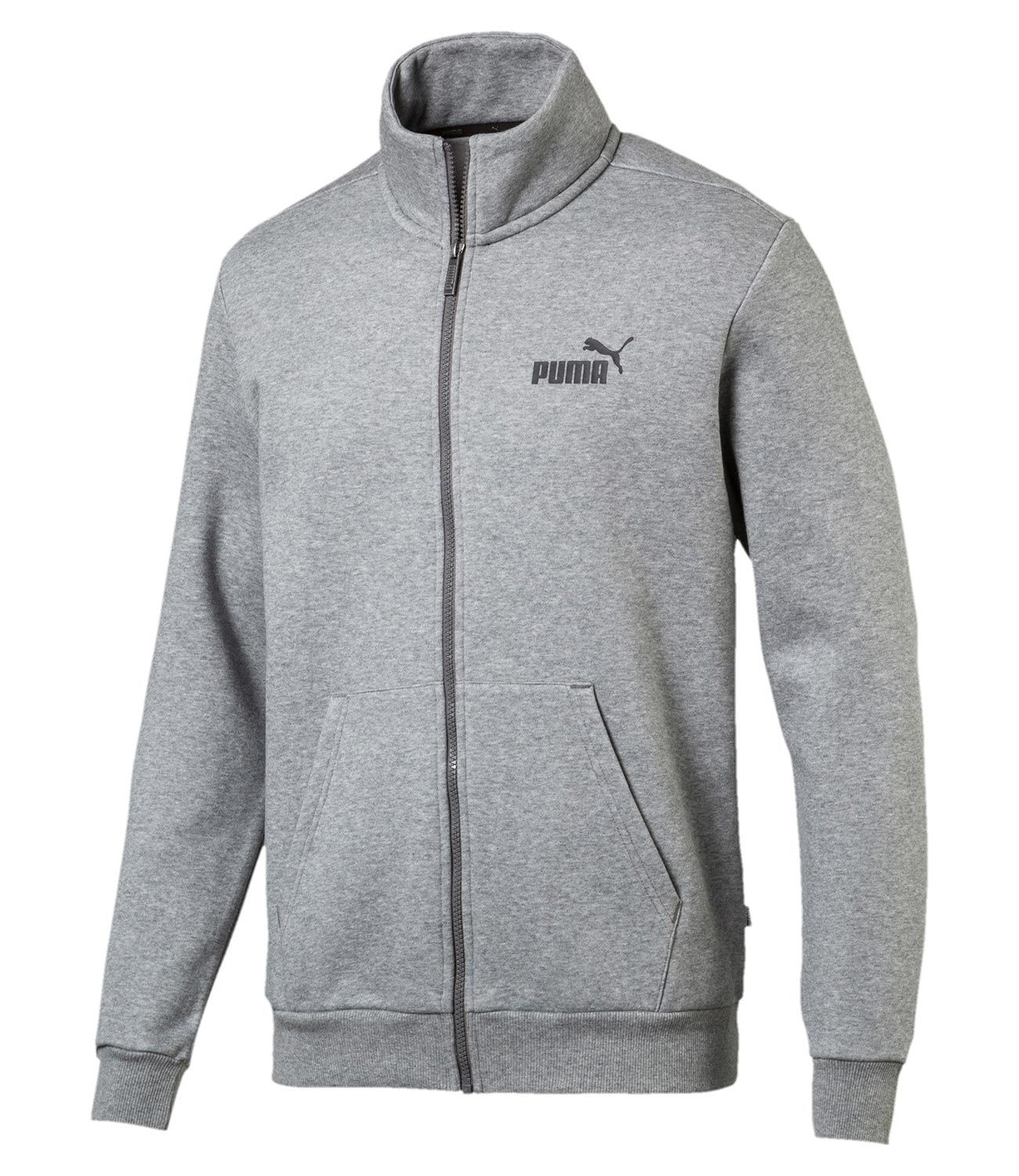 PUMA Жакет мужской ESS TRACK JACKET FL, grey