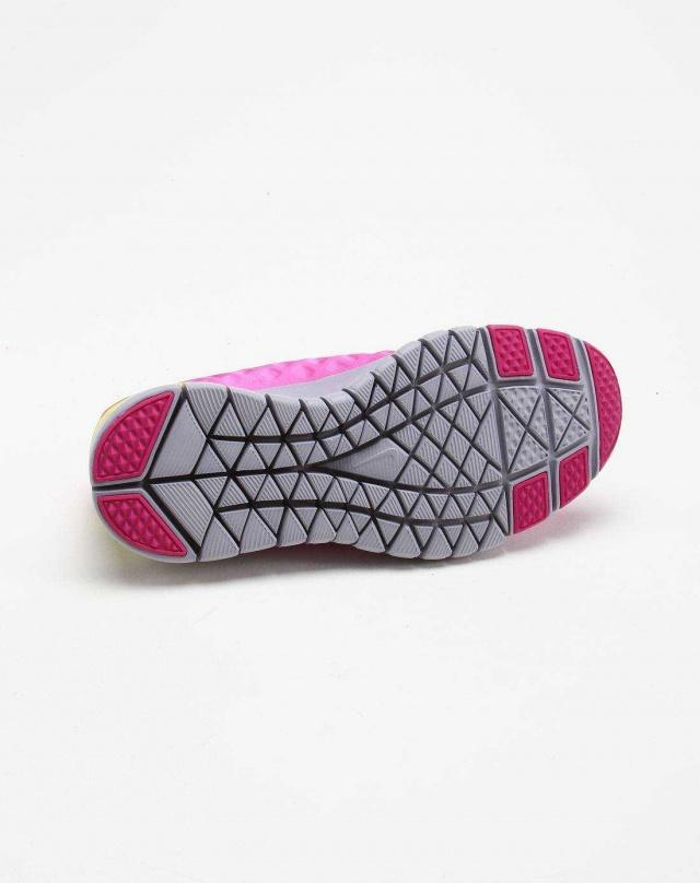 NIKE Кроссовки женские WMNS FREE TR FI, pink, yellow. Фото N5