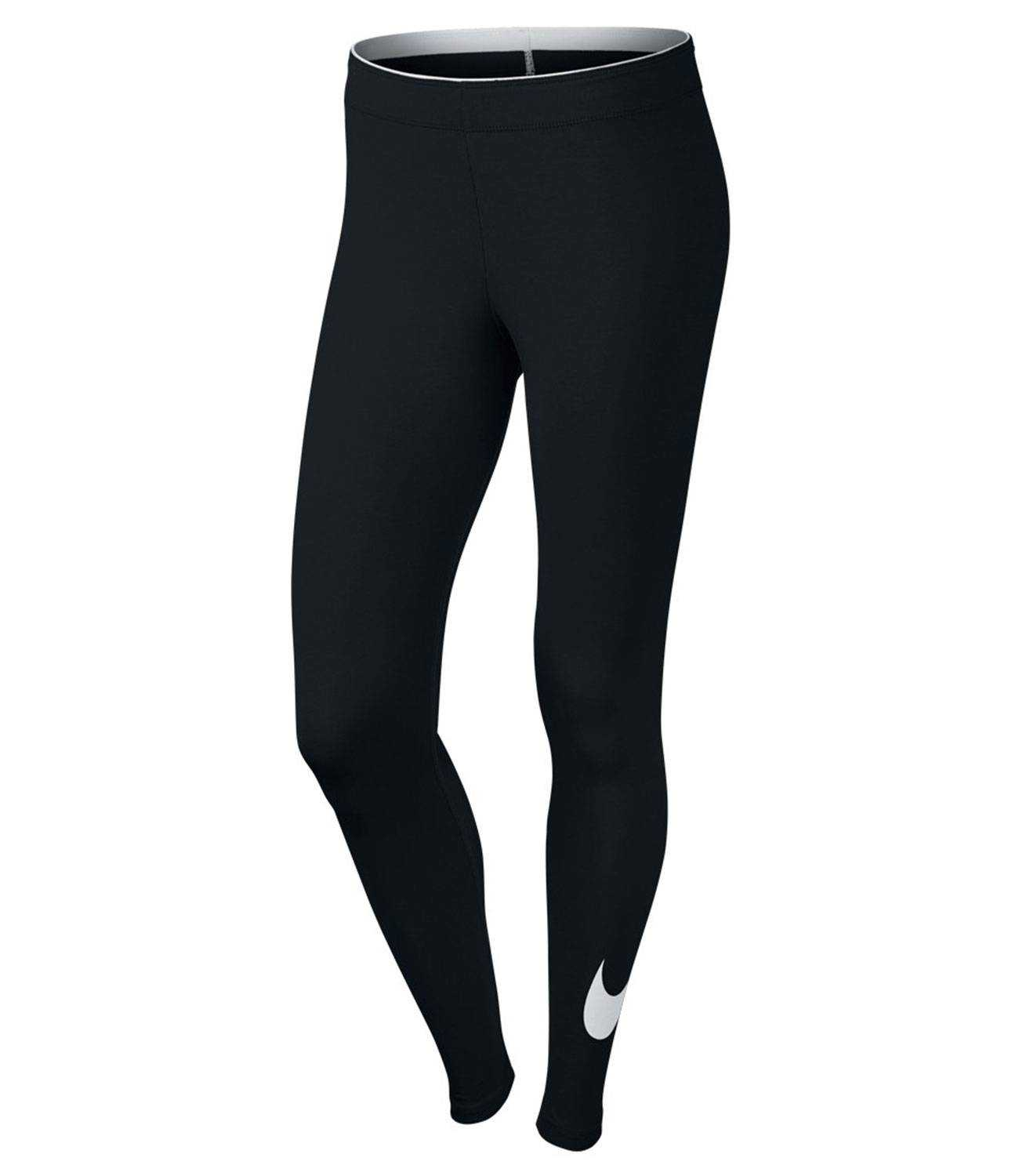 NIKE Брюки женские Sportwear Club Legging Logo 2 W, black