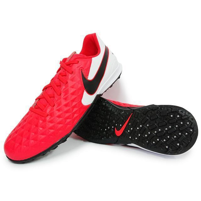 NIKE Бутсы мужские TIEMPO LEGEND 8 ACADEMY IC, red, white, black. Фото N3