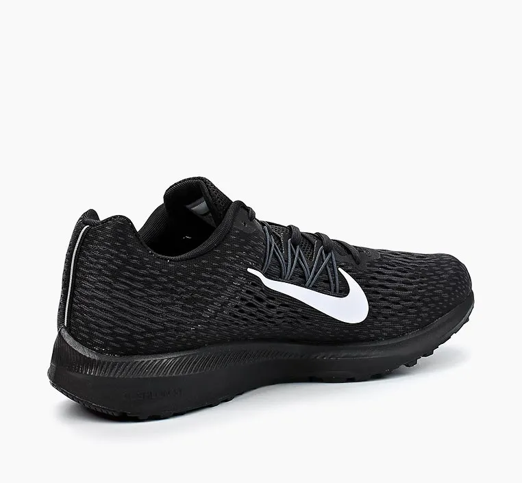 NIKE Кроссовки мужские Air Zoom Winflo 5, black, white. Фото N2