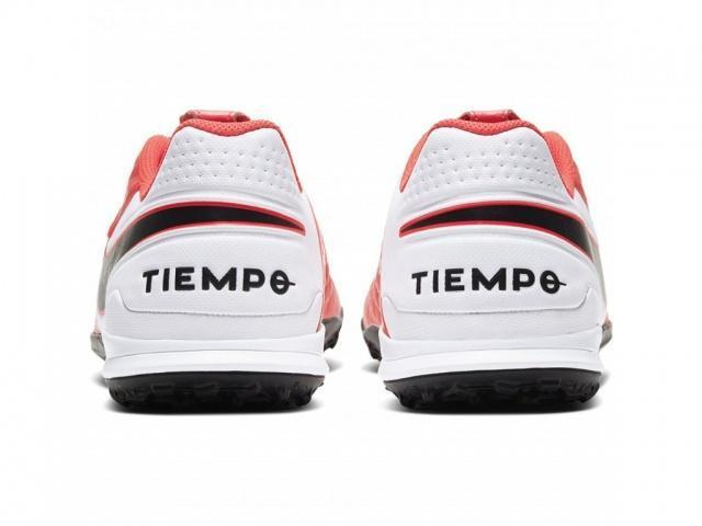 NIKE Бутсы мужские TIEMPO LEGEND 8 ACADEMY IC, red, white, black. Фото N5