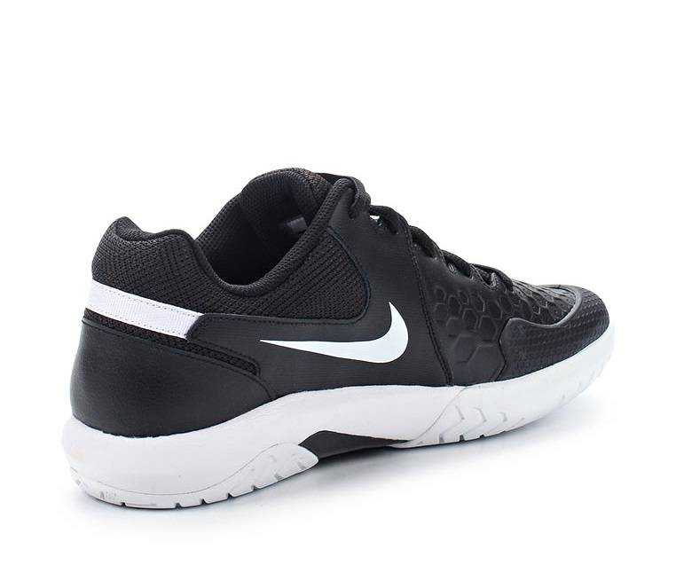 NIKE Кроссовки мужские AIR ZOOM RESISTANCE, black, white. Фото N2