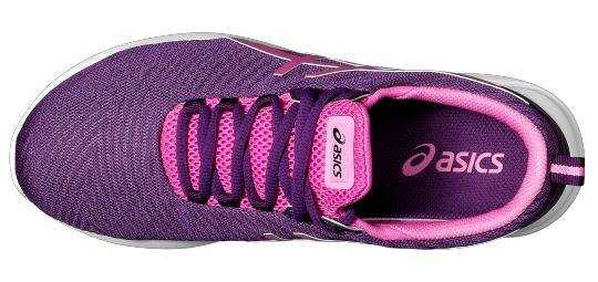 ASICS Кроссовки женские RUNNING SHOES, violet, pink. Фото N2