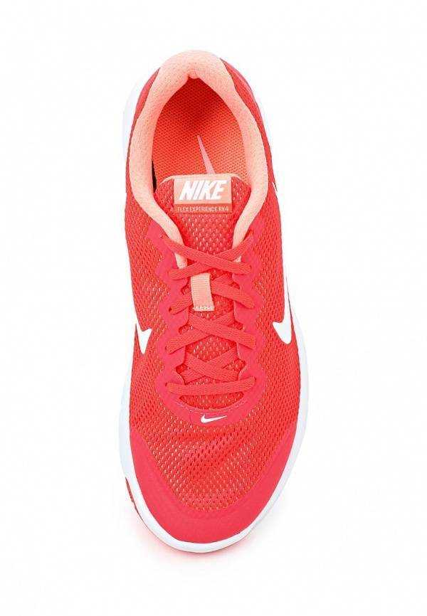 NIKE Кроссовки женские FLEX EXPERIENCE 4, red. Фото N2
