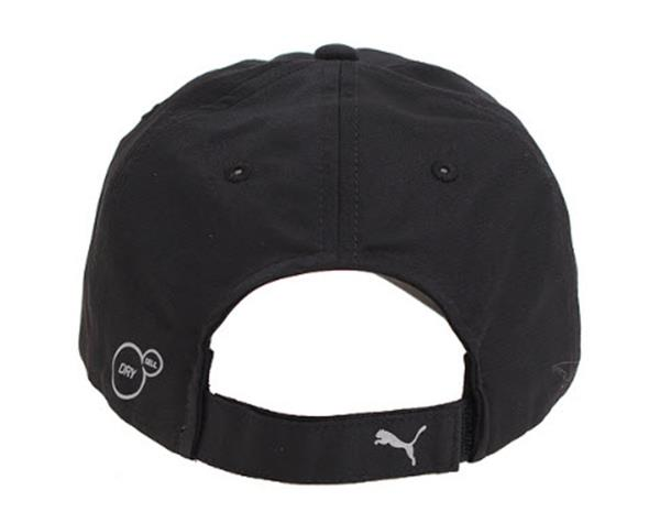 PUMA Бейсболка UNISEX RUNNING CAP III, black, grey. Фото N3