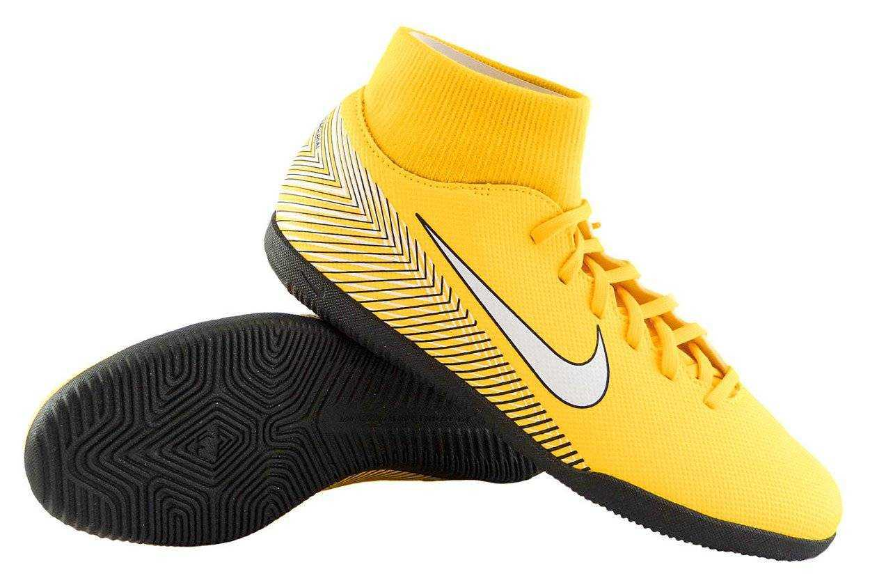 NIKE Бутсы Neymar SuperflyX 6 Club IC, amber. Фото N2