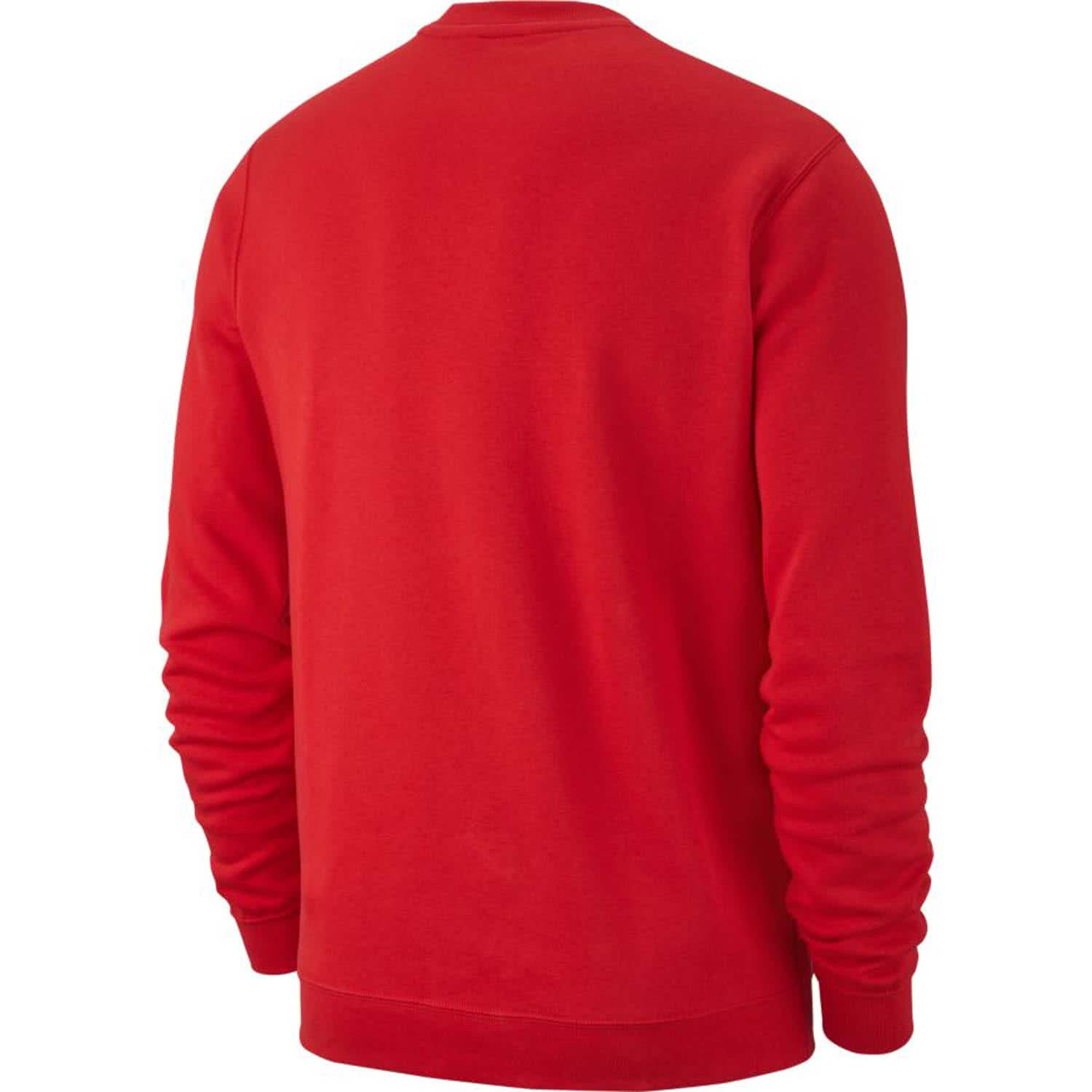 NIKE Жакет мужской CREW FLEECE TEAM CLUB, red. Фото N2