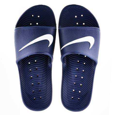 NIKE Сланцы Men's Kawa Shower Slide, dark blue. Фото N2