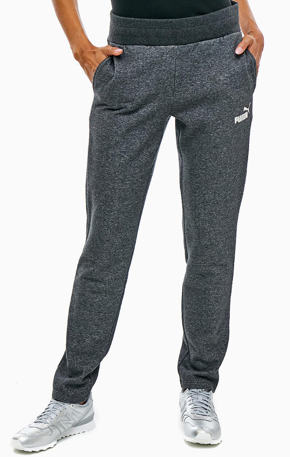 PUMA брюки женские ESS SWEAT PANTS FL OP, grey