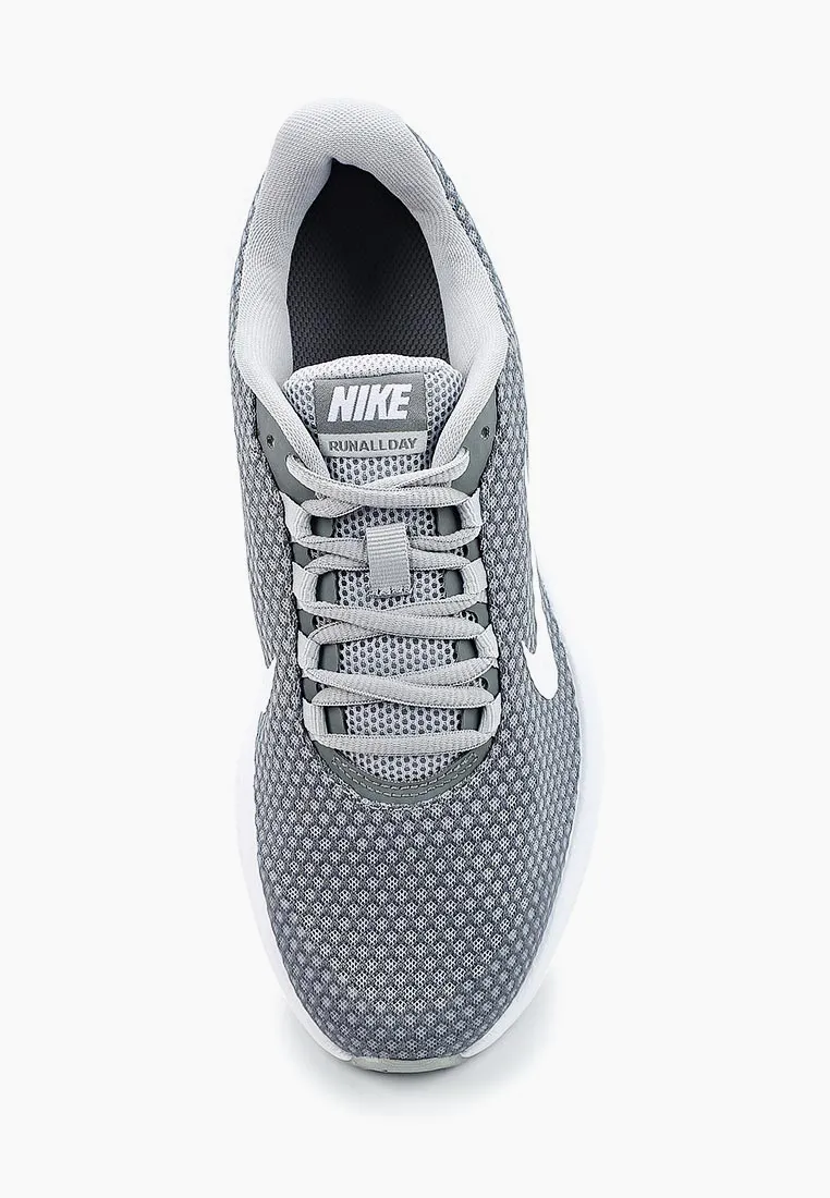 NIKE Кроссовки RunAllDay Running Shoe, grey. Фото N4