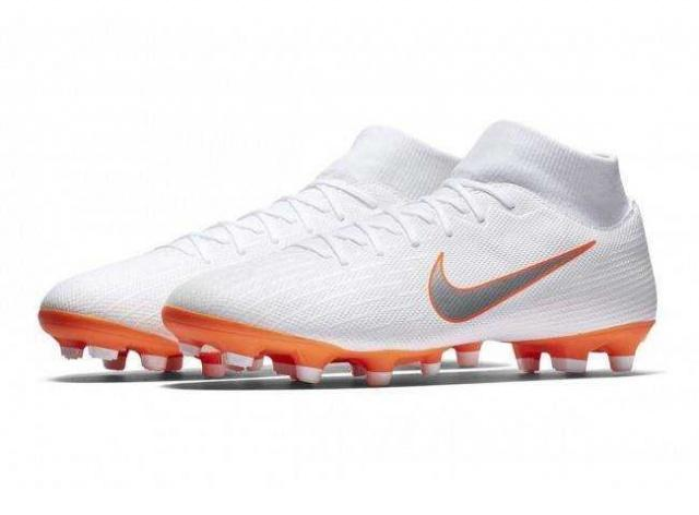 NIKE Бутсы Mercurial Superfly 6 Academy FG/MG Just Do It, White
