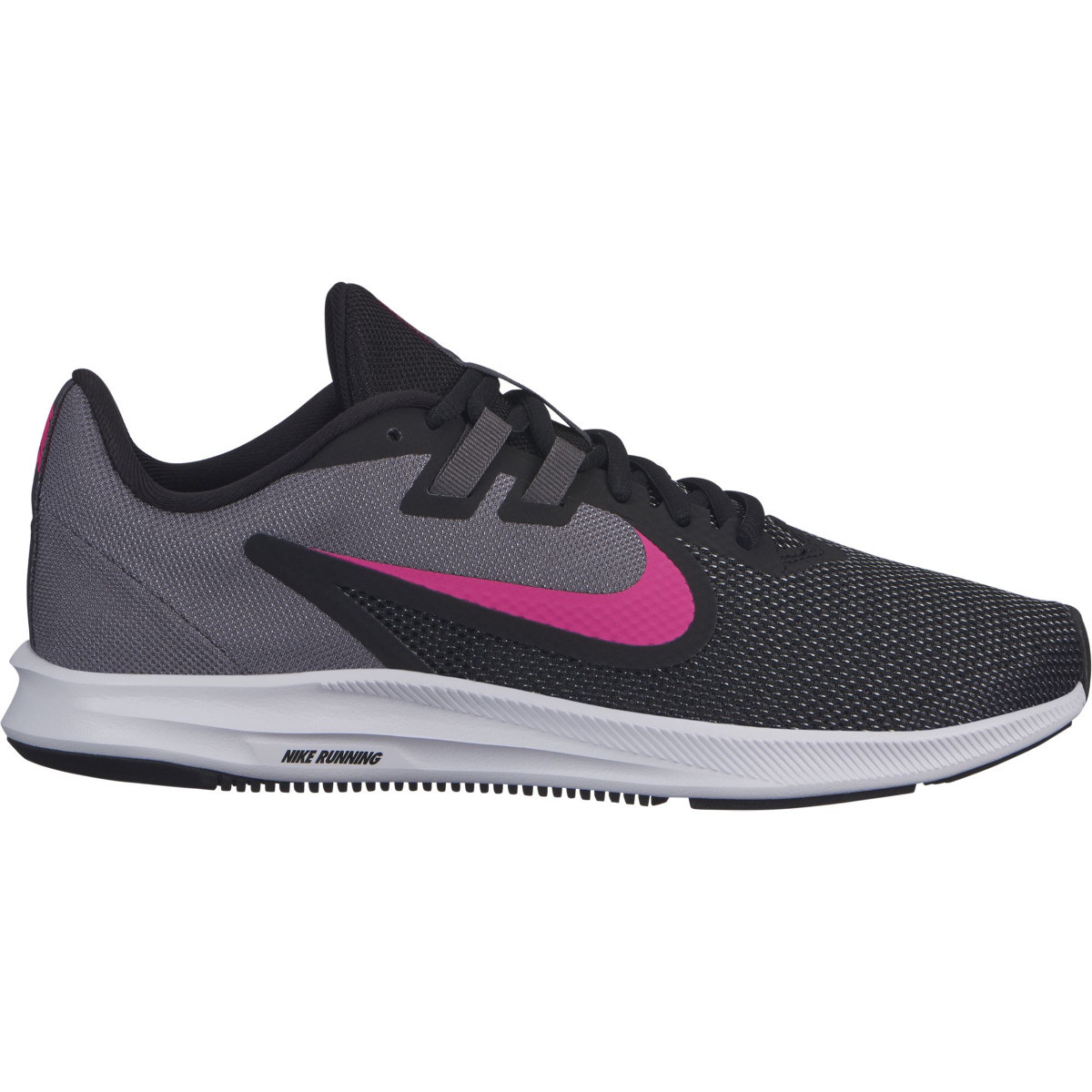 NIKE Кроссовки женские DOWNSHIFTER 9, black, grey, pink