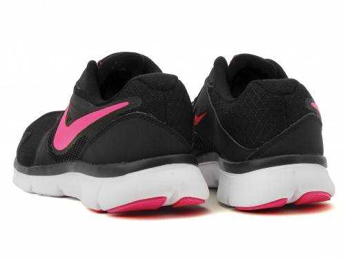 NIKE FLX EXPERIENCE RN3 MSL Кроссовки женские, black, pink. Фото N3