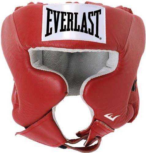 Шлем EVERLAST USA BOXING 610400U, red