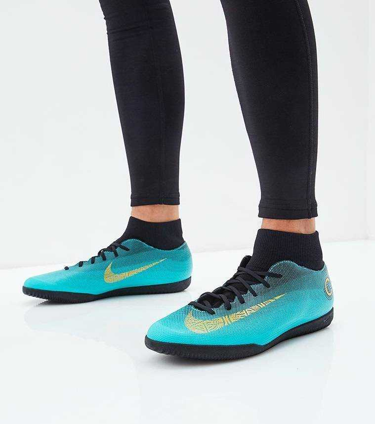 NIKE Бутсы зальные SUPERFLYX 6 CLUB CR7 IC, blue. Фото N5