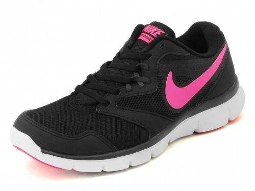 NIKE FLX EXPERIENCE RN3 MSL Кроссовки женские, black, pink. Фото N2