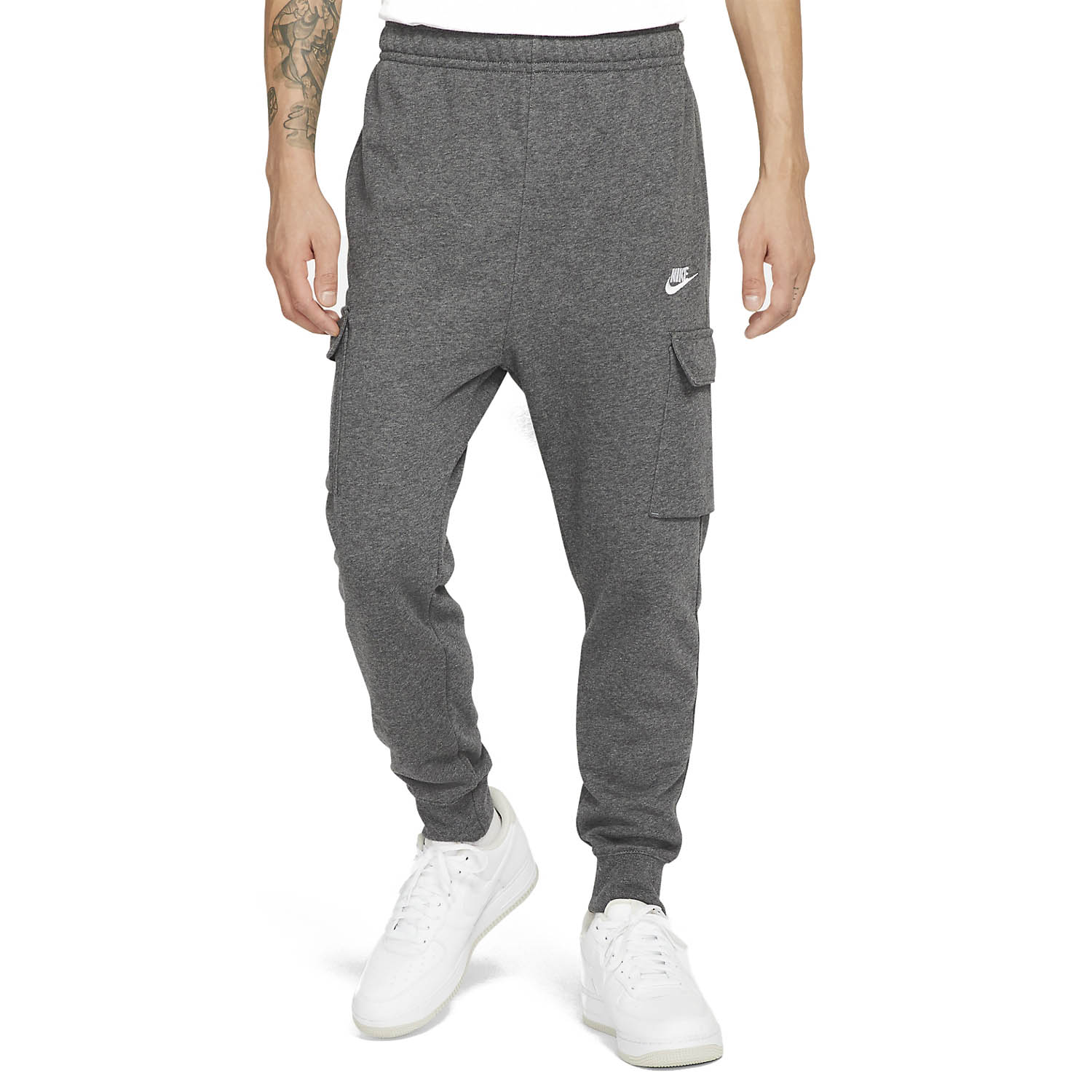 NIKE Брюки мужские SPORTSWEAR CLUB FLEECE, grey2 CZ9954-071