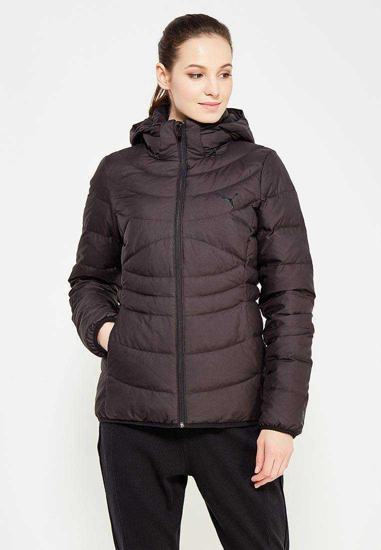 PUMA Пуховик ESS 400 HOODED DOWN JACKET W, black
