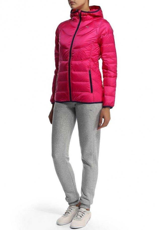 PUMA Пуховик ACTIVE GOOSE DOWN JACKET, pink. Фото N4