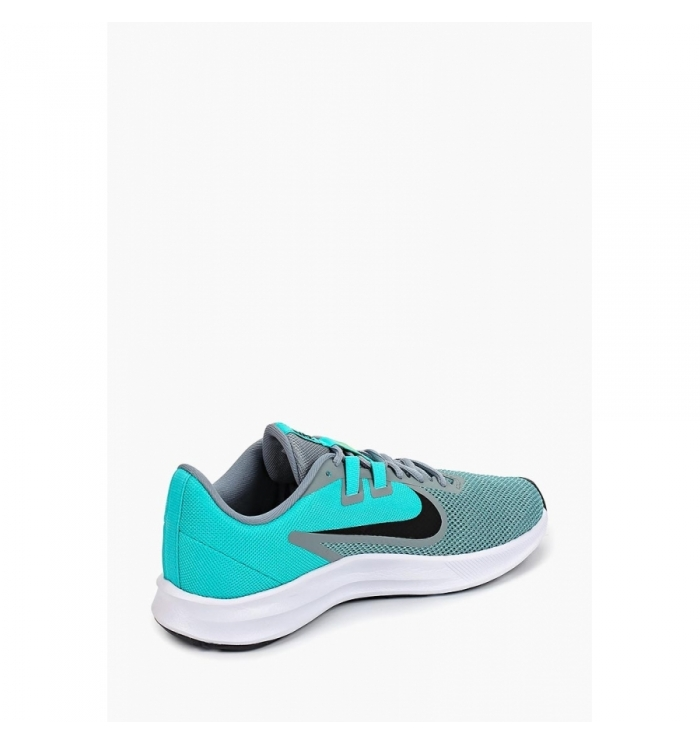 NIKE Кроссовки женские DOWNSHIFTER 9, turquoise, grey, black. Фото N3