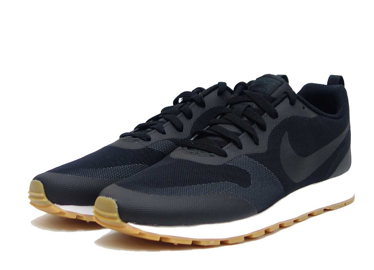 Nike Кроссовки MD RUNNER 2 19, black, white