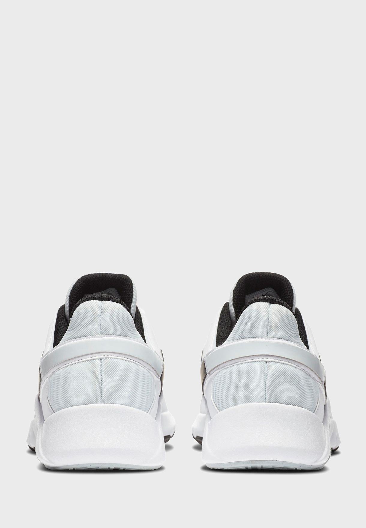 NIKE Кроссовки мужские LEGEND ESSENTIAL 2, white, black. Фото N2