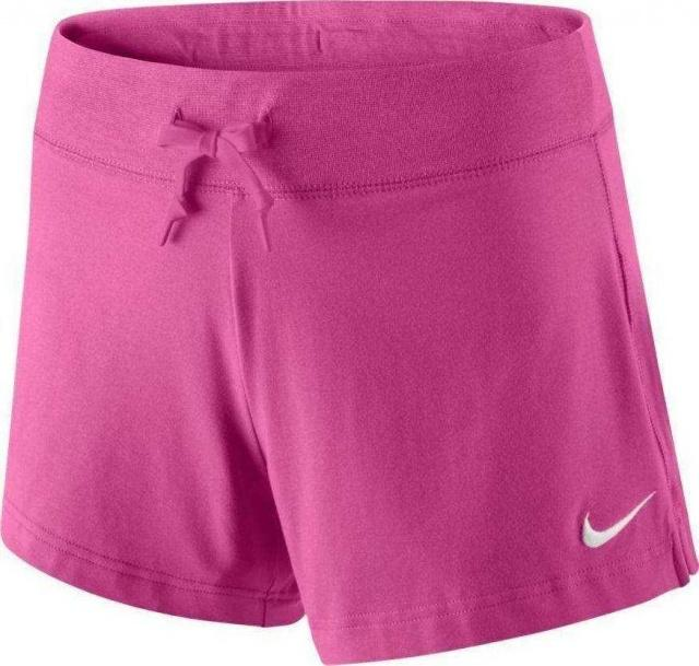 NIKE Шорты Womens Jersey Short, raspberry