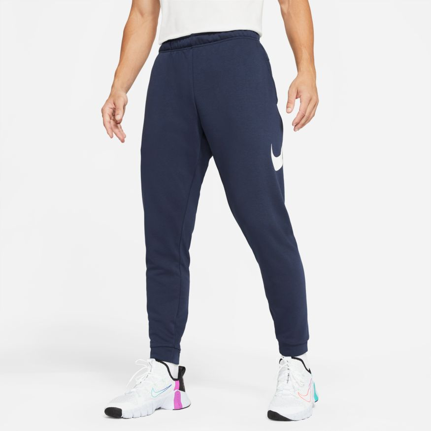 NIKE Брюки мужские DRI-FIT, dark blue CU6775-452