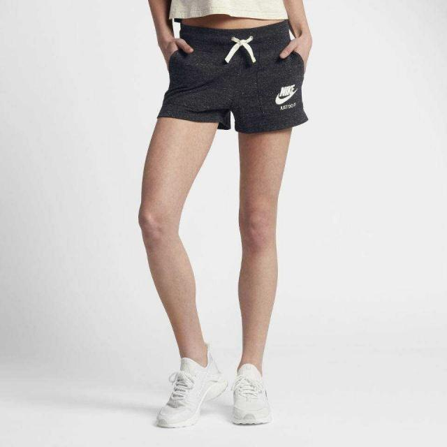 NIKE Шорты женские Sportswear Gym Vintage Womens Shorts, black. Фото N2