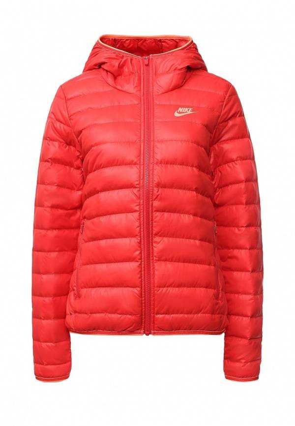 NIKE Куртка женская W NSW DWN FLL JKT HD, red