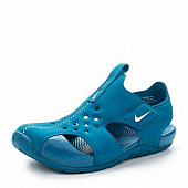 NIKE Сандалии подростковые Boys' Nike Sunray Protect 2 (PS) Preschool Sandal, blue