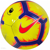 NIKE Мяч футбольный SC3597-710 PREMIER LEAGUE PITCH, yellow, violet, pink