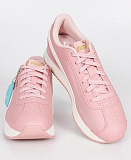 PUMA Кроссовки женские TURINO STACKED Black-Ros, white, pink