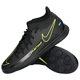 NIKE Бутсы мужские PHANTOM GT CLUB DF TF, black, yellow