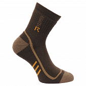 REGATTA Носки 3 SEASON TREK TRAIL, brown, beige, yellow