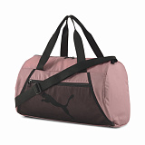 PUMA Сумка AT ESS BARREL BAG FOXGLOVE BI-X, pink, black