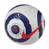 NIKE Мяч футбольный PREMIER LEAGUE STRIKE, white, dark blue, red