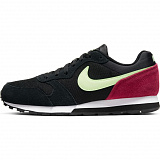 NIKE Кроссовки женские MD RUNNER 2, black, yellow, vinous