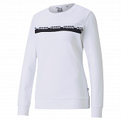 PUMA Жакет женский AMPLIFIED CREW, white, black