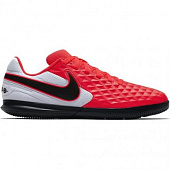 NIKE Кроссовки подростковые JR TIEMPO LEGEND 8 ACADEMY TFLittle/BIG KIDS ARTIFICIAL-TURF SOCCER SH, red, black, white